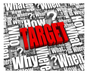 Target word graphic
