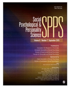 Social Psych Personality Science cover